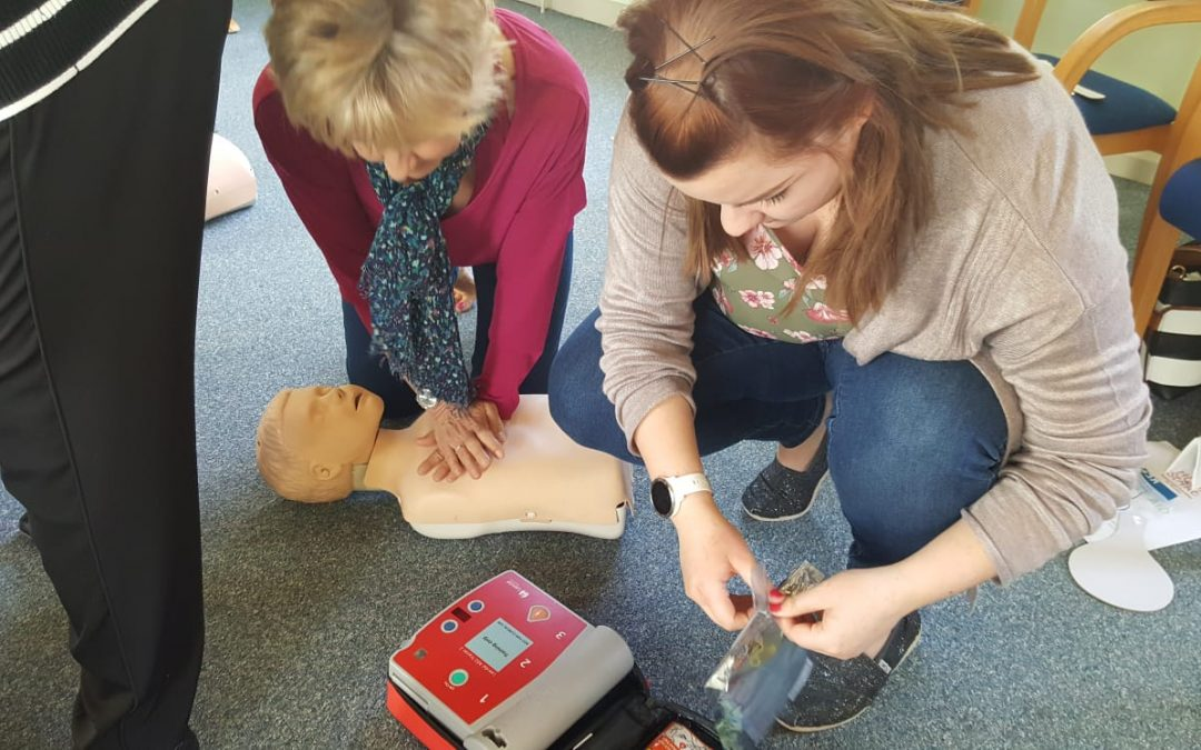 First Aid Training 17th May 2018